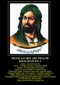 1. Imam Ali bin Abi Thalib