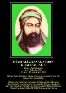4. Imam Ali Zaenal Abidin