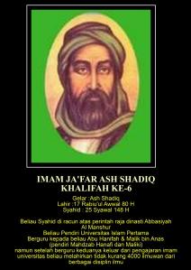 6. Imam Ja'far Ash Shadiq