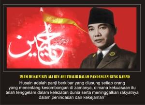 Ir Soekarno dan Imam husain